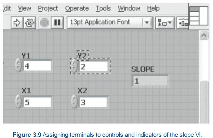 labview to create a connector pane in modular programming