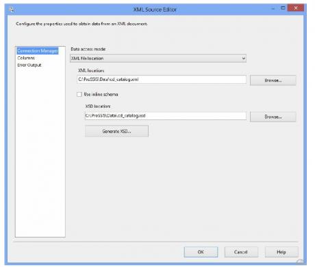 XML Source Editor