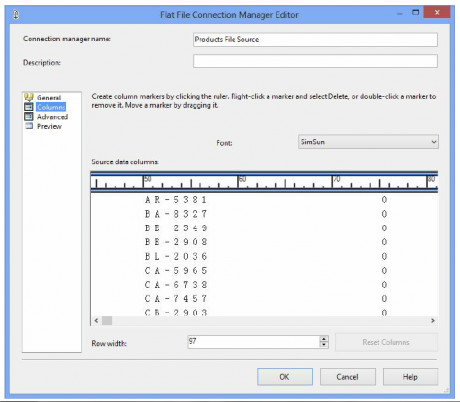 Connection Manager Editor