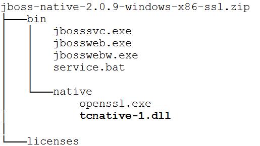 Windows http connector in JBoss