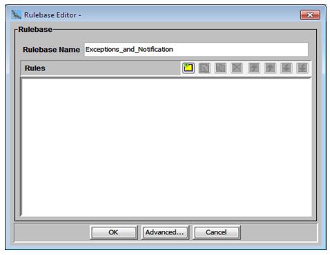 Rulebase editor