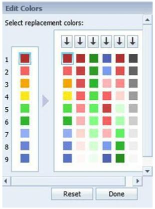 Edit Color Scheme