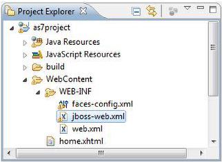 Project explorer 2