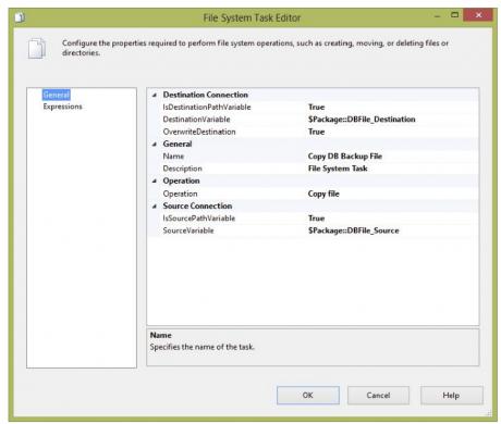 File system Task Bar