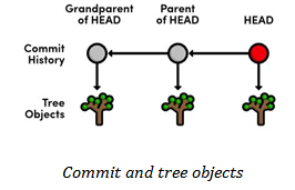 Commit and tree objects