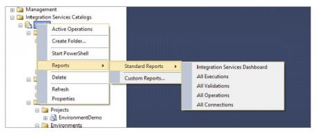 Integration Services Dashboard