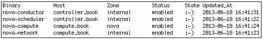 Binary-host-zone-status-state update
