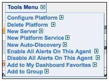 MySQL Tools Menu