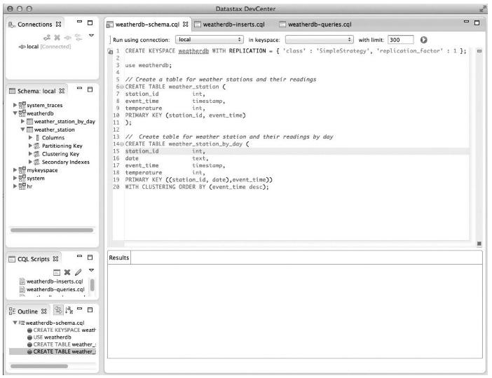 DataStax DevCenter