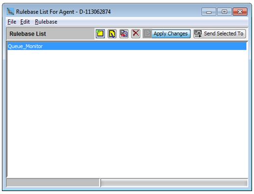 rulebase list for agent