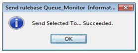 success message window