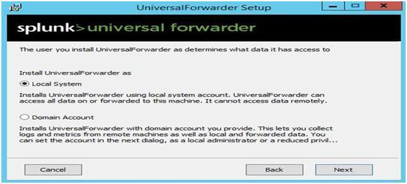 Splunk- Universal Forwarder