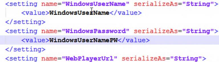 username code