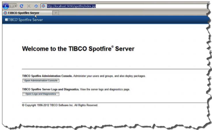 TIBCO Spotfire Server