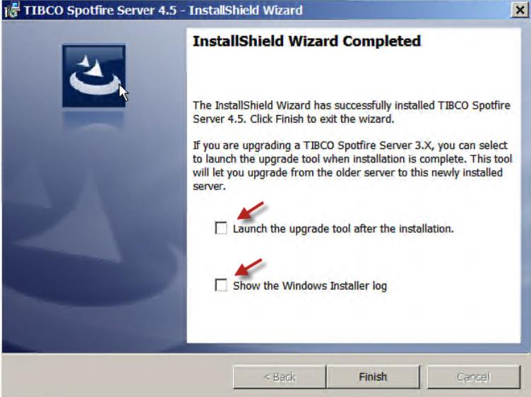 TIBCO Spotfire server 4.5