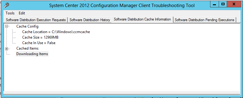 System Center 2012 R2 Configuration Manager Client Troubleshooting Tool