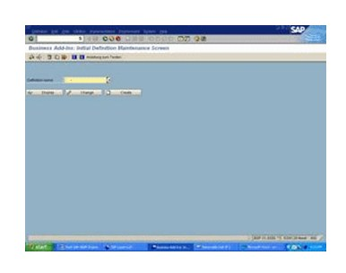 SAP application program