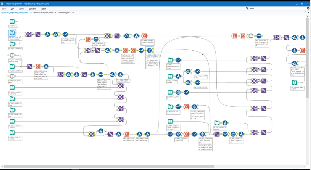 Overview window in Alteryx