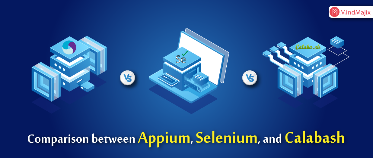 Comparison between Appium, Selenium, and Calabash