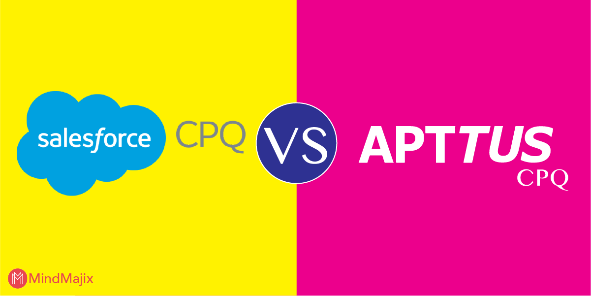 Apttus CPQ Vs. Salesforce CPQ