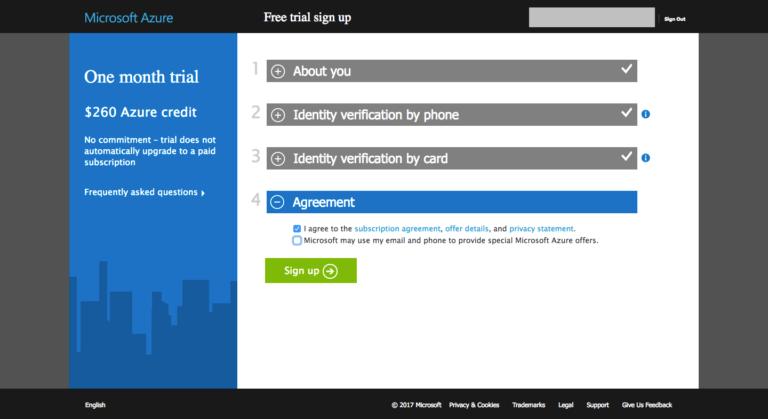 Azure Website
