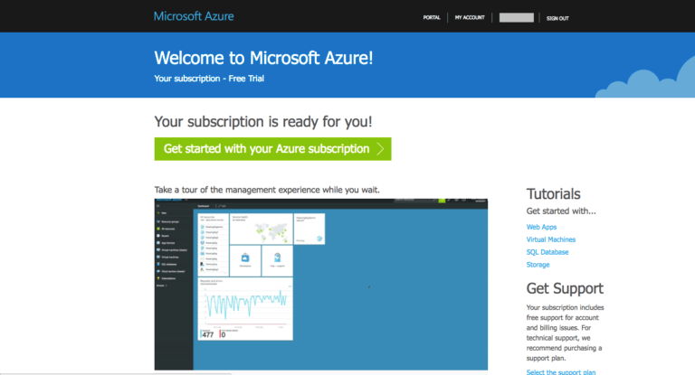 Microsoft Azure Account