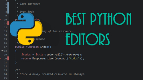 Best Python Editors