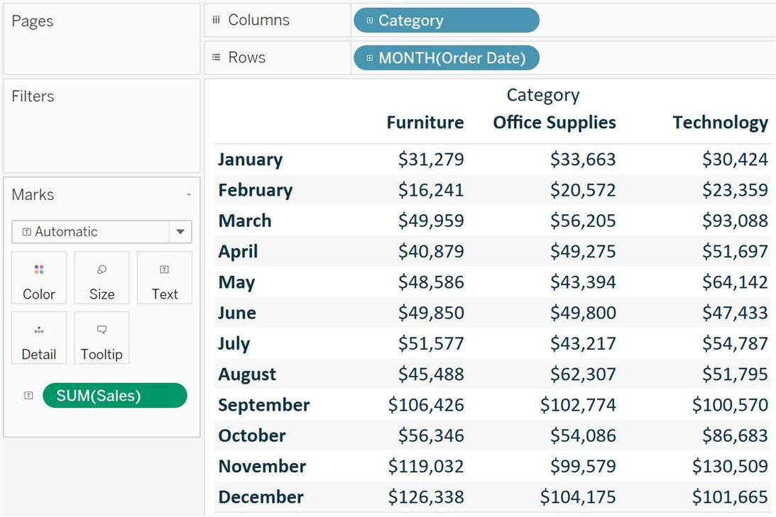 table calculation in tableau