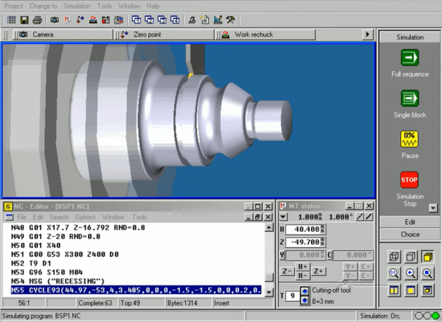 CAM (Computer-Aided Manufacturing)