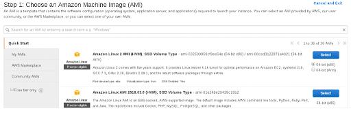 Amazon Machine Image (AMI)