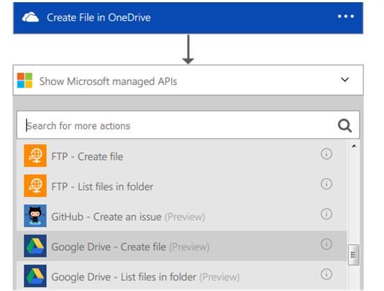 create a new file on Google Drive