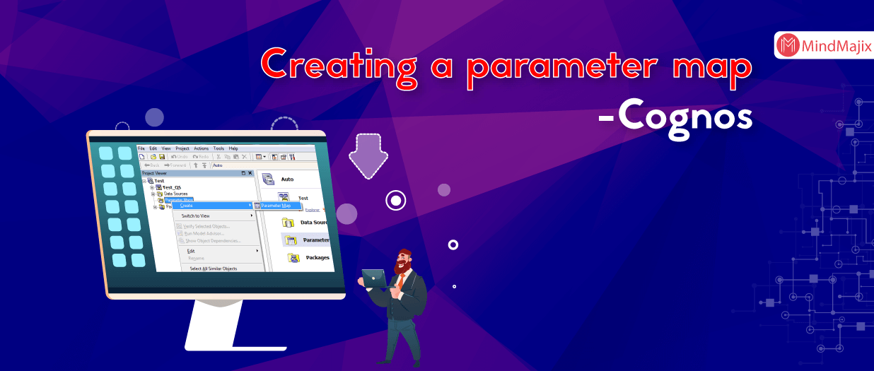 Creating a parameter map - Cognos