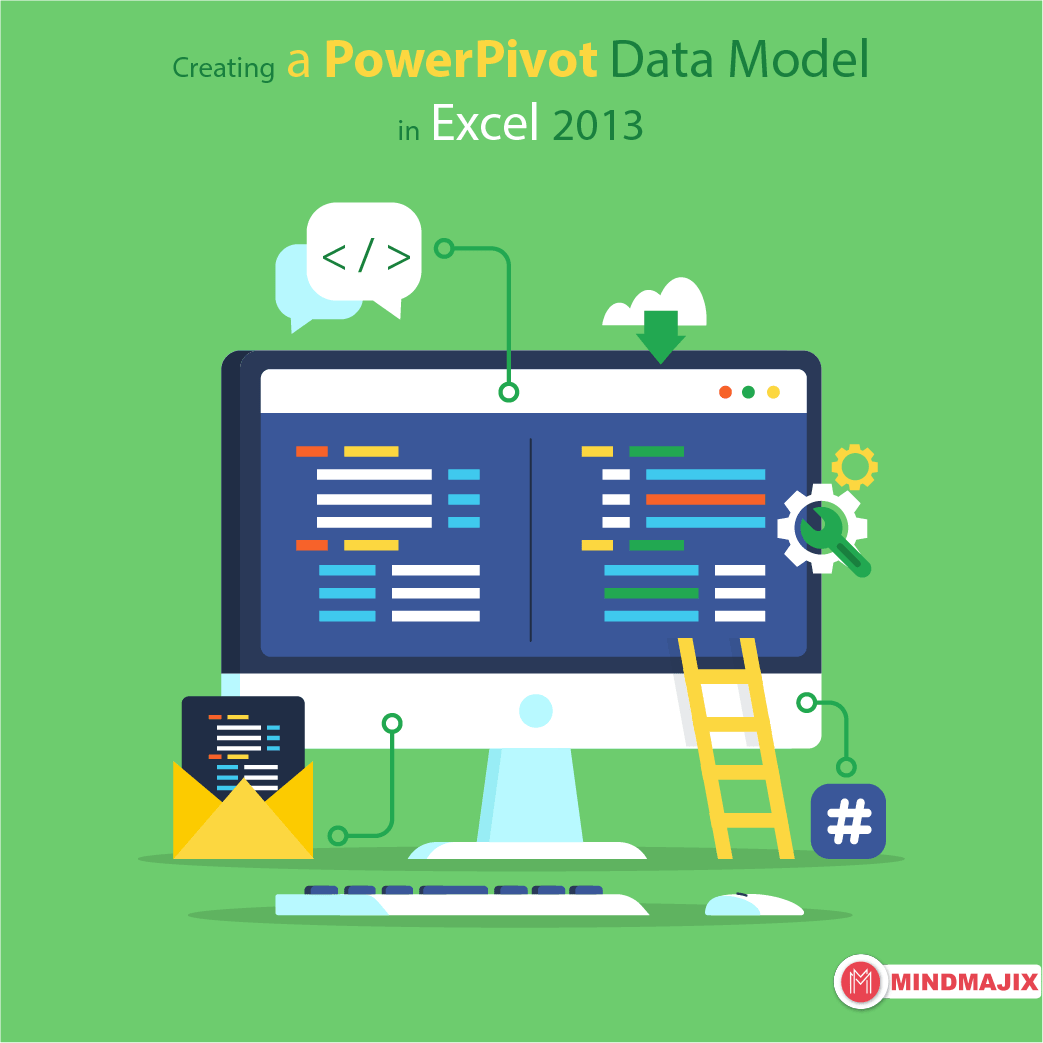 Creating a PowerPivot Data Model in Excel 2013