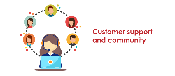 Tableau vs power BI Customer Support and Community