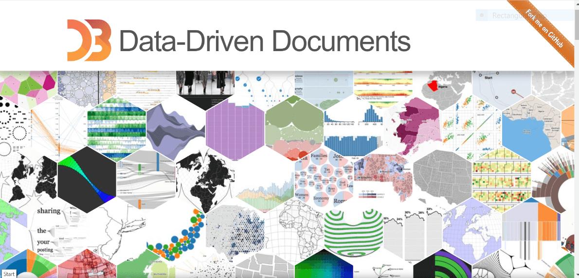 D3js free data visualization tool