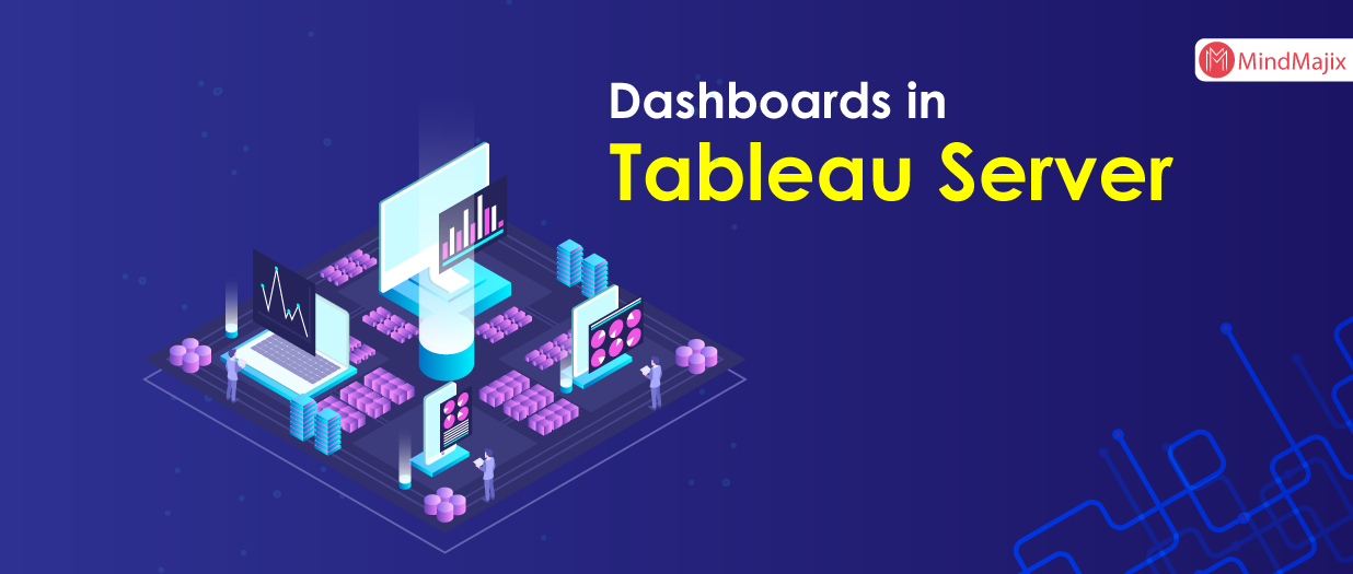 How to publish dashboards in tableau server?