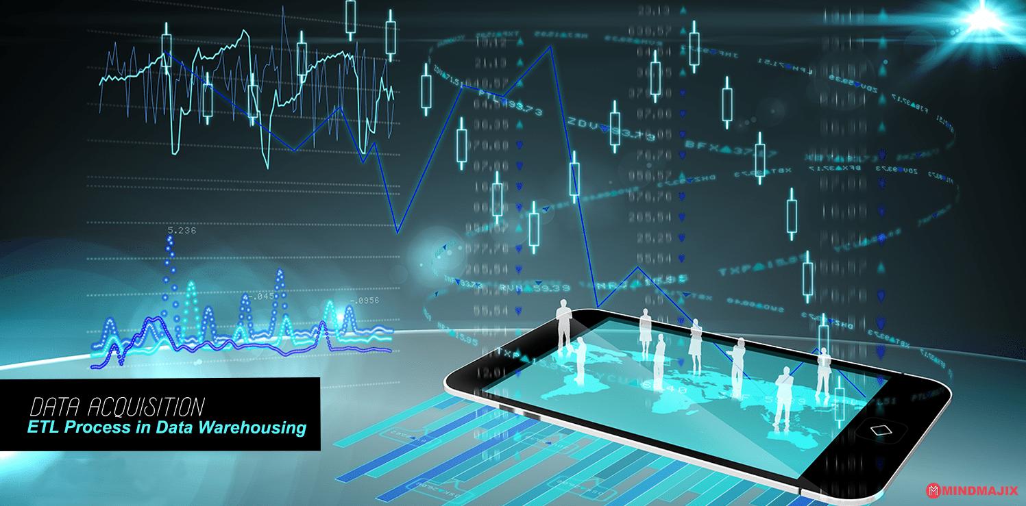 Data acquisition ETL Process in Data Warehousing