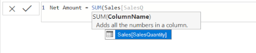 DAX in Power BI Argument