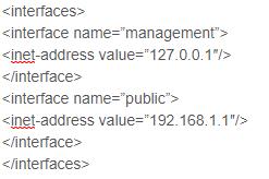 configuration code