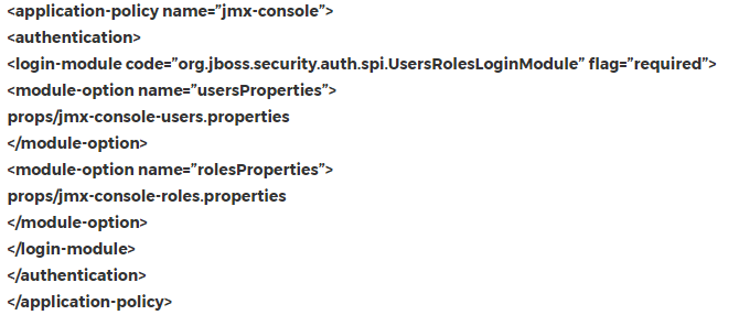 Jboss security domain login setup