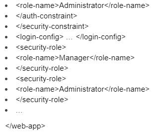 Security Declaring 1