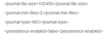 JMS subsystem