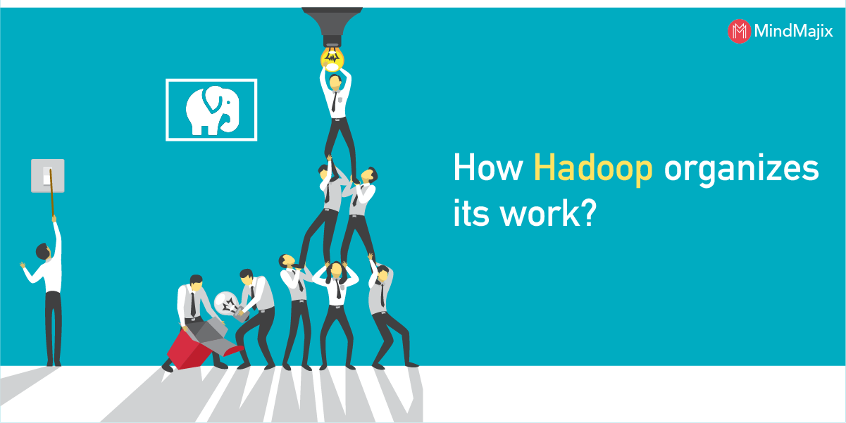 Hadoop organizes its work
