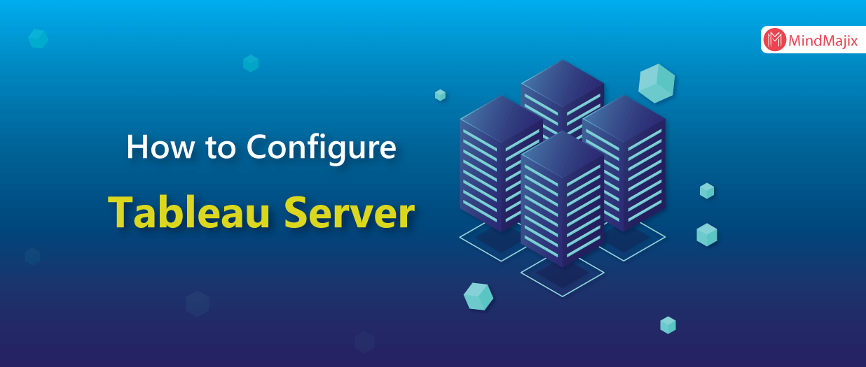 How to configure tableau server for the first time?