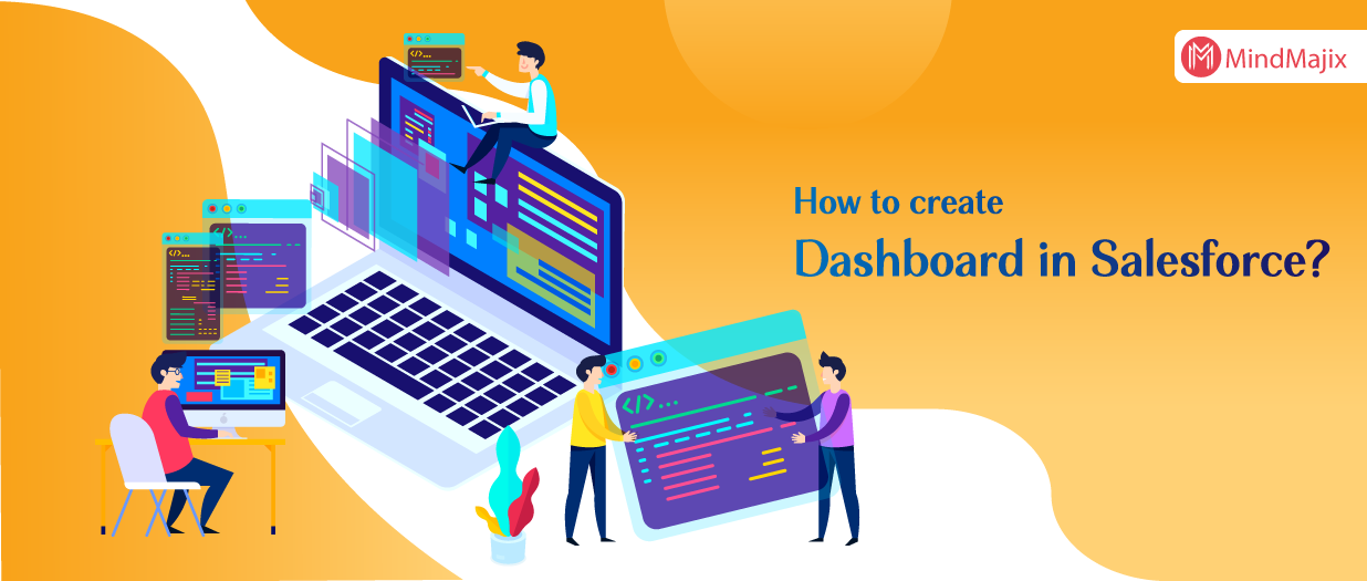 How to create dashboard in Salesforce?