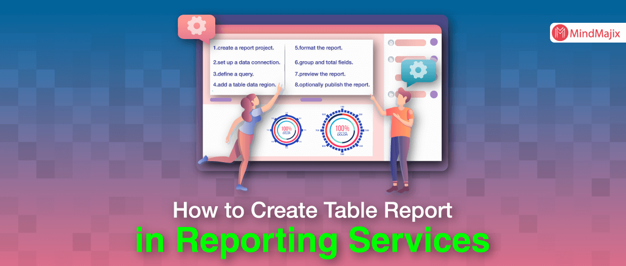 How to Create Table Report in Reporting Services - MSBI