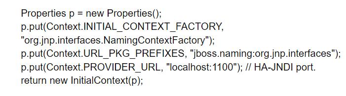 JBoss Cluster code3