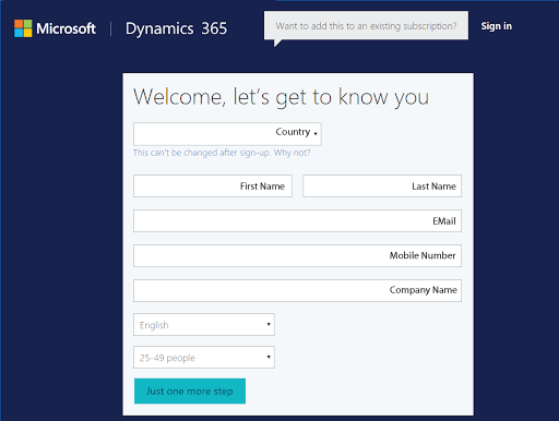 Setting up Microsoft Dynamics CRM