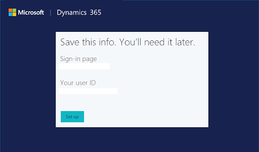 Microsoft Dynamics CRM account