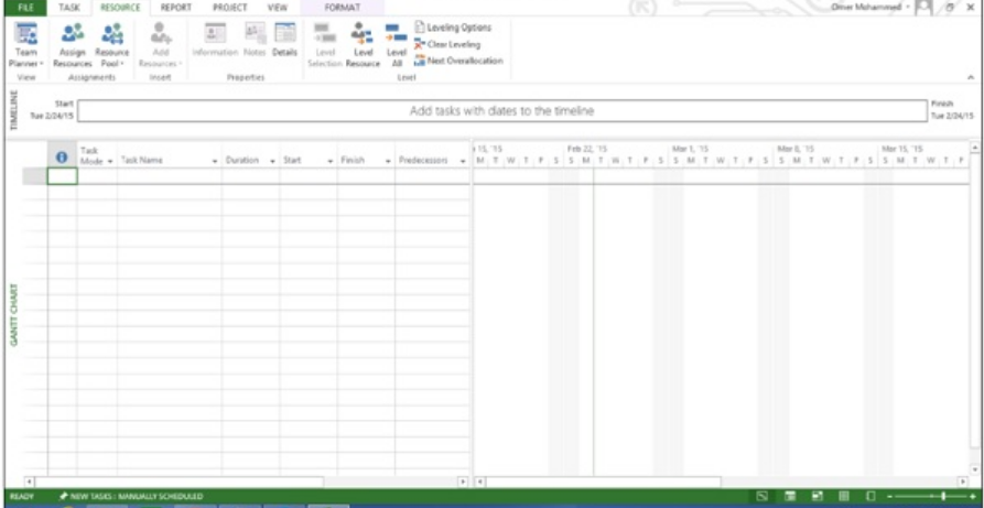 Leveling Calculations in MS Project